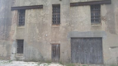 Back of Old City Jail
