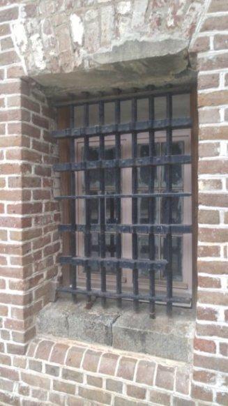 City Jail Window